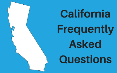 California State Laws and Regulations